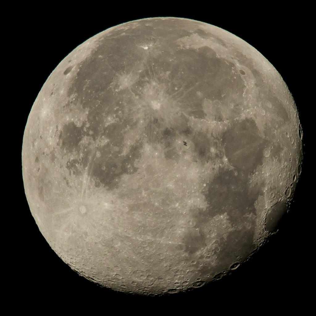 Der Trabant der Erde, genannt Mond