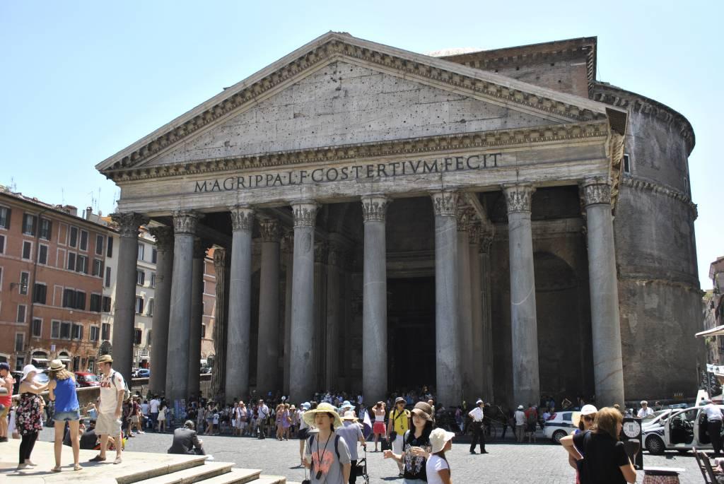 Der Pantheon in Rom