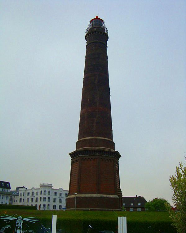 Neuer Leuchtturm von Borkum