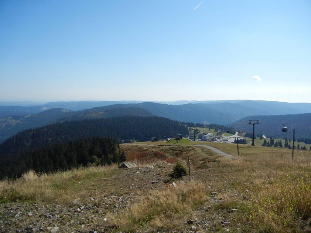 Blick vom Feldberg im Südschwarzwald - (c) Lars Weichert