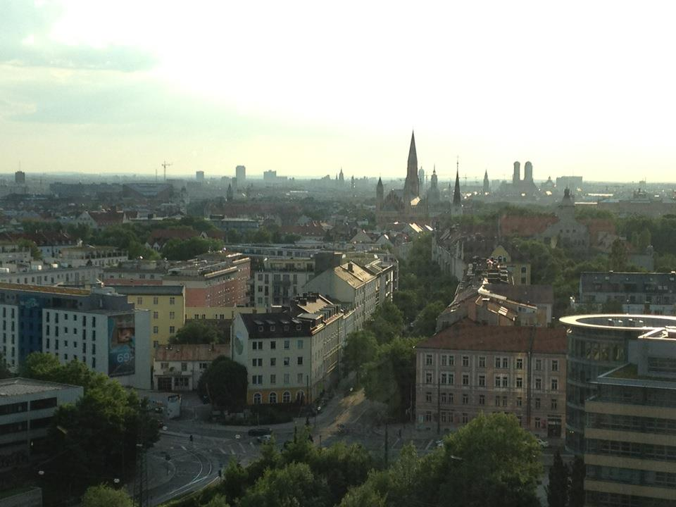 Blick über die Münchner Altstadt